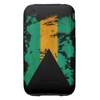 Bahamas Flag Tough iPhone 3 Case