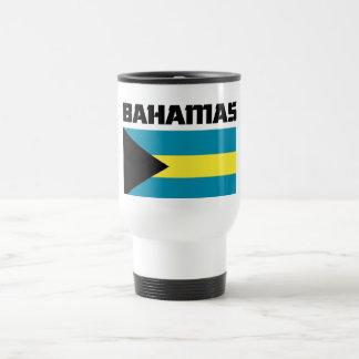 Bahamas Flag Travel Mug