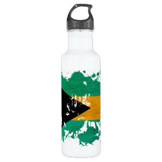 Bahamas Flag Water Bottle