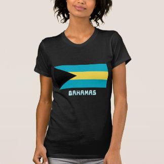 Bahamas Flag with Name Tees