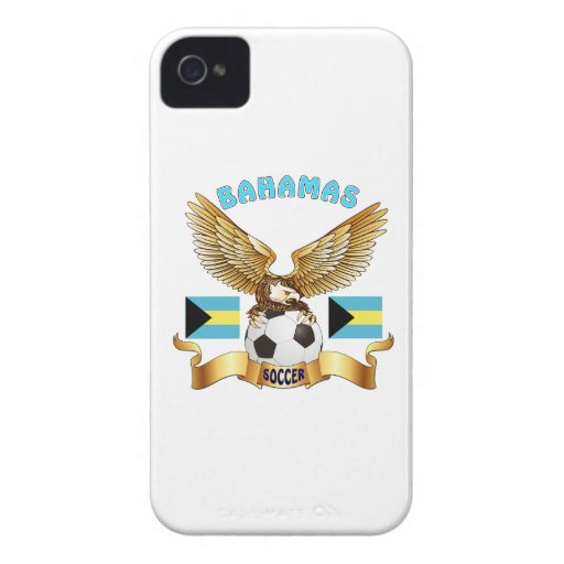 Bahamas Football Designs iPhone 4 Case-Mate Cases