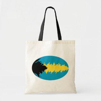 Bahamas Gnarly Flag Bag