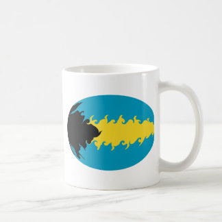 Bahamas Gnarly Flag Mug
