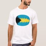 Bahamas Gnarly Flag T-Shirt