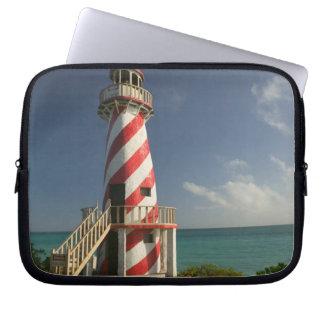 BAHAMAS, Grand Bahama Island, Eastern Side: Town Computer Sleeve