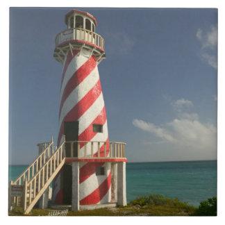 BAHAMAS, Grand Bahama Island, Eastern Side: Town Large Square Tile
