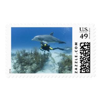 Bahamas, Grand Bahama Island, Freeport, Scuba Postage