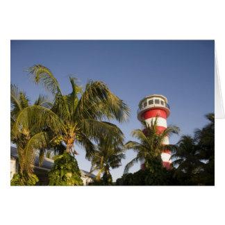 Bahamas, Grand Bahama Island, Freeport, Setting Card