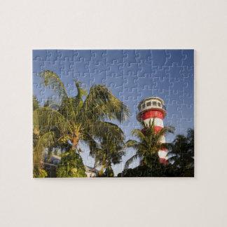 Bahamas, Grand Bahama Island, Freeport, Setting Jigsaw Puzzle