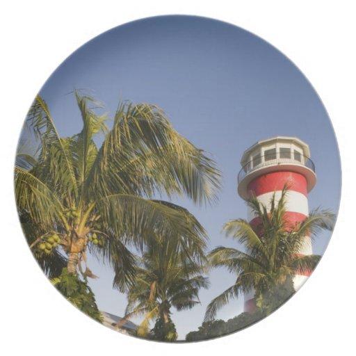 Bahamas, Grand Bahama Island, Freeport, Setting Plate