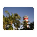 Bahamas, Grand Bahama Island, Freeport, Setting Rectangular Magnet