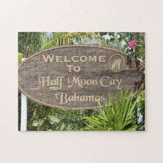 Bahamas Half Moon Cay. Jigsaw Puzzle