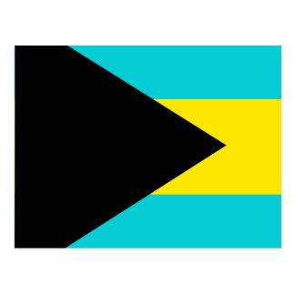 Bahamas High quality Flag Postcard