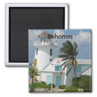 Bahamas Imán Cuadrado