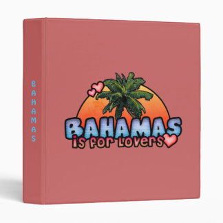 Bahamas is for Lovers 3 Ring Binder