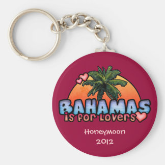 Bahamas is for Lovers Keychain