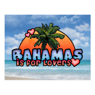 Bahamas is for Lovers Postcard