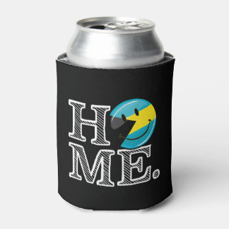 Bahamas is Home Smiling Flag House Warmer Can Cooler