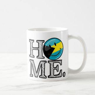Bahamas is Home Smiling Flag House Warmer Coffee Mug