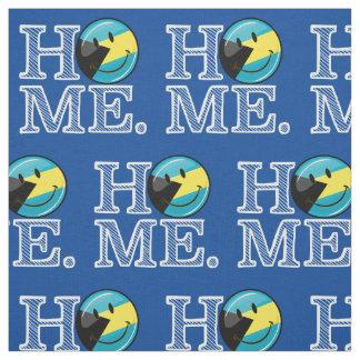Bahamas is Home Smiling Flag House Warmer Fabric