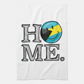 Bahamas is Home Smiling Flag House Warmer Kitchen Towel