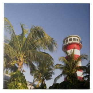 Bahamas, isla de Bahama magnífica, puerto franco,  Azulejo Cuadrado Grande