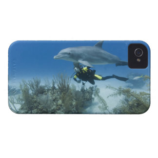 Bahamas, isla de Bahama magnífica, puerto franco, Case-Mate iPhone 4 Cárcasa
