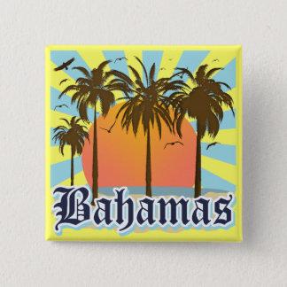 Bahamas Islands Beaches Button