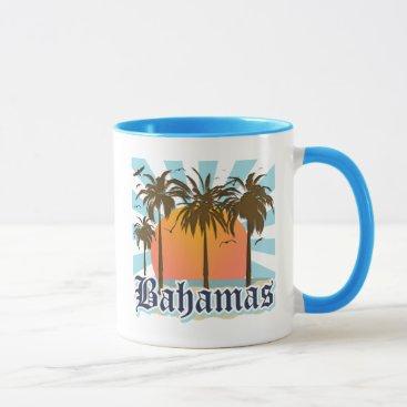 Beach Themed Bahamas Islands Beaches Mug
