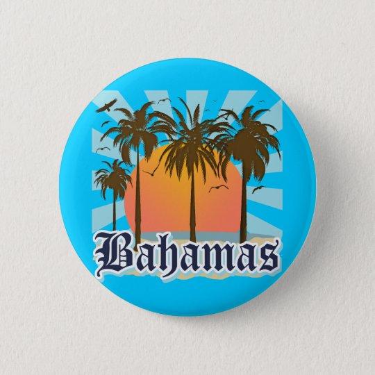 Bahamas Islands Beaches Pinback Button
