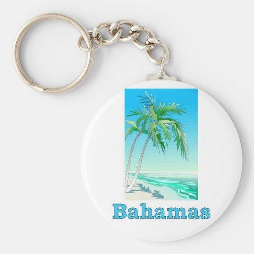 Bahamas Key Chain