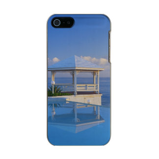 Bahamas, Long Island, Gazebo reflecting on pool Incipio Feather® Shine iPhone 5 Case