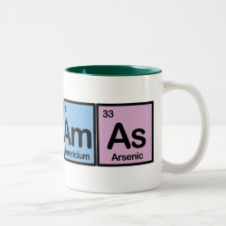 Two-Tone Mug with Bahamas design