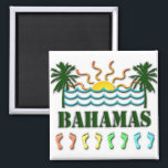 """Bahamas Magnet<br><div class=""""desc"""">Bahamas Design</div>"""