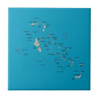 Bahamas Map Tile