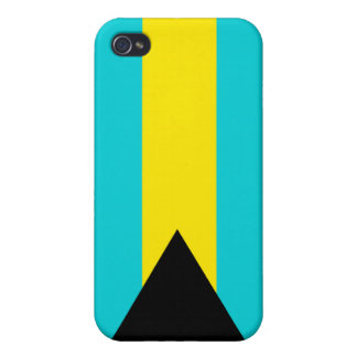 Bahamas National Nation Flag  iPhone 4/4S Cover