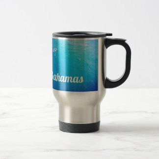 Bahamas Ocean 15 Oz Stainless Steel Travel Mug