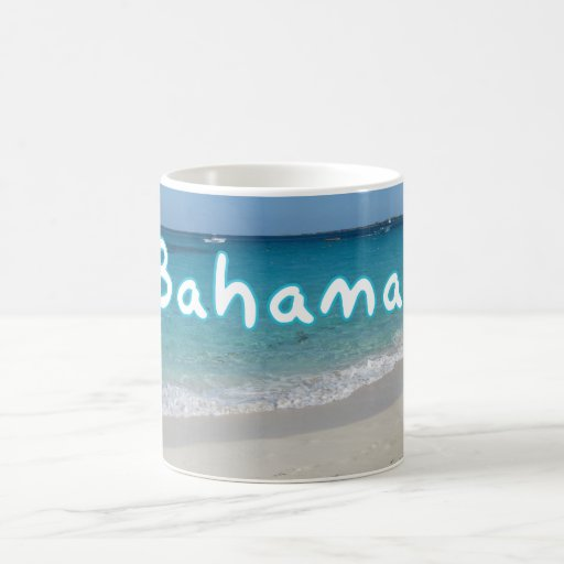 Bahamas Ocean Beach Paradise Island Mug