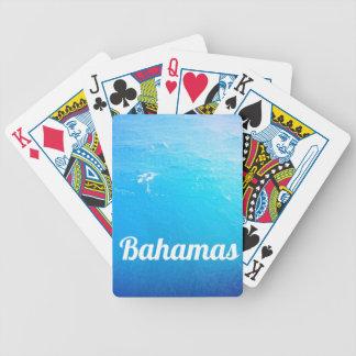 Bahamas Ocean Bicycle Playing Cards
