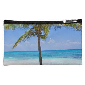 Bahamas Palm Tree Cosmetic Bags