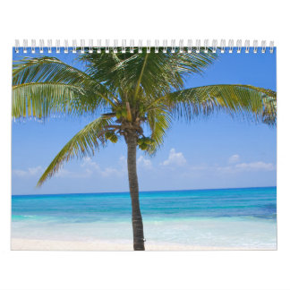 Bahamas Palm Tree Calendar