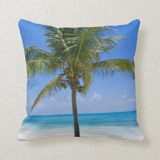 Bahamas Palm Tree Pillow