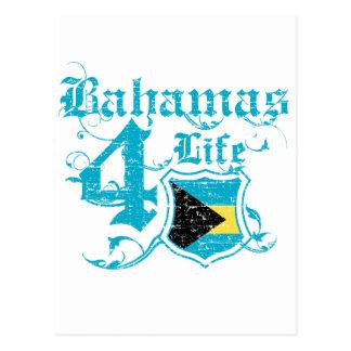 Bahamas para la vida postal