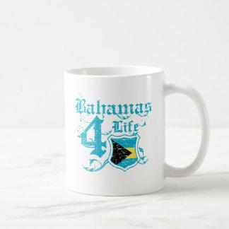 Bahamas para la vida tazas de café