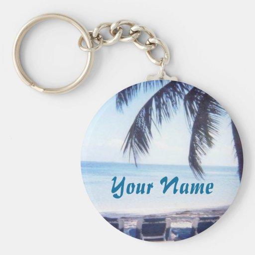 Bahamas Personalized Key Chain