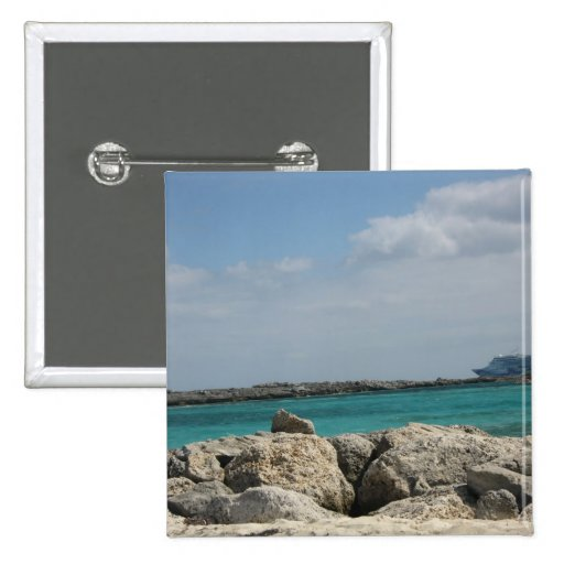 Bahamas Pin Cuadrado