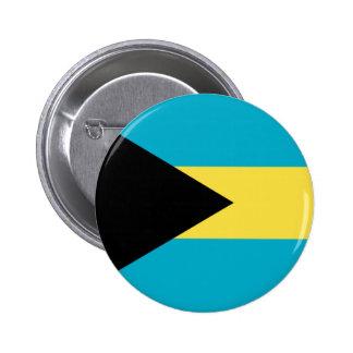Bahamas Pin Redondo De 2 Pulgadas