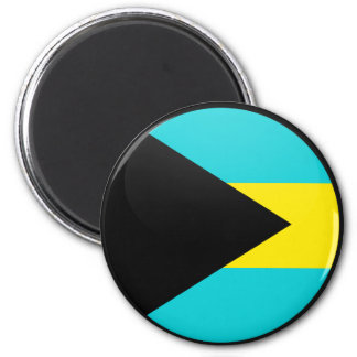 Bahamas quality Flag Circle Fridge Magnets