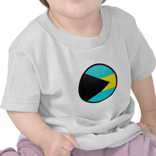Bahamas quality Flag Circle Tee Shirt