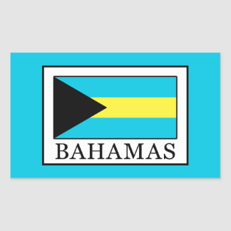 Bahamas Rectangular Sticker
